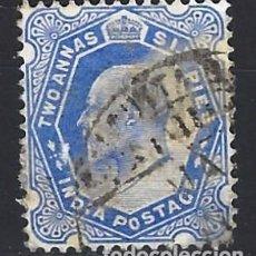Sellos: INDIA 1902-03 - REY EDUARDO VII - SELLO USADO. Lote 210627525