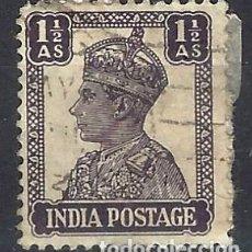 Sellos: INDIA 1941-43 - REY JORGE VI - SELLO USADO. Lote 210627768