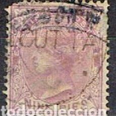 Sellos: INDIA Nº 30 (AÑO 1874), LA REINA VICTORIA, EMPERATRIZ DE LA INDIA USADO. Lote 215231210