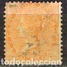 Sellos: INDIA Nº 14 (AÑO 1856), LA REINA VICTORIA, EMPERATRIZ DE LA INDIA USADO. Lote 215231873