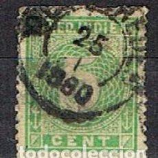 Sellos: INDIA HOLANDESA Nº 22 (AÑO 1883), USADO. Lote 215262558