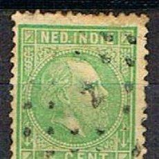 Sellos: INDIA HOLANDESA Nº 8 (AÑO 1870), EL REY GUILLERMO IIIUSADO. Lote 215262945