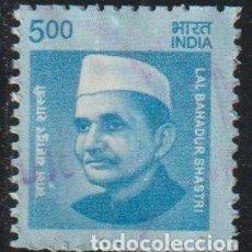 Sellos: INDIA 2016 SCOTT 2797 SELLO º PERSONAJES LAL BAHADUR SHASTRI (1904-1966) PRIMER MINISTRO MICHEL 2929. Lote 218484421