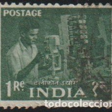 Sellos: INDIA 1959 SCOTT 316 SELLO º INGENIERO DE TELEFONIA MICHEL 304 YVERT 108 STAMPS TIMBRE INDE. Lote 218530103
