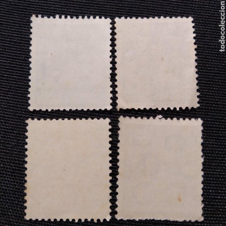 Sellos: lote de 4 sellos Plan Quinquenal de la República Democrática Alemana, año 1953 - Foto 6 - 220100116