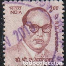 Sellos: INDIA 2009 SCOTT 2279 SELLO º DR. B. R. AMBEDKAR MICHEL 2355 YVERT 2124 STAMPS TIMBRE INDE BRIEFMARK. Lote 221484472