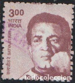 INDIA 2009 SCOTT 2280 SELLO º PERSONAJES SATYAJIT RAY MICHEL 2356 YVERT 2125 STAMPS TIMBRE INDE (Sellos - Extranjero - Asia - India)