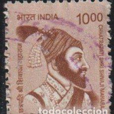 Sellos: INDIA 2016 SCOTT 2802 SELLO º PERSONAJES CH. SHRI SHIVAJI MAHARAJ (1630[?]-1680) LIDER HINDU MI 2934. Lote 221484930