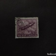 Sellos: 1967-69 - INDIA - AVION FOLLAND GNAT - YVERT 226. Lote 222167048
