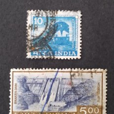 Sellos: 1976 INDIA SERIE DE USO CORRIENTE. Lote 222361638