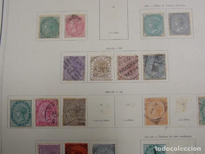 Sellos: INDIAS INGLESAS - Foto 6 - 228236090