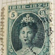 Timbres: SELLO INDIAS ORIENTALES NEERLANDESAS 1924 REINA GUILLERMINA 5 CÉNTIMO. Lote 249289900