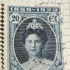 Timbres: SELLO › INDIAS ORIENTALES NEERLANDESAS 1923 REINA GUILLERMINA 20 CÉNTIMO. Lote 249292870