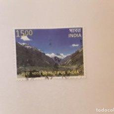 Selos: AÑO 2017 INDIA SELLO USADO. Lote 251997510