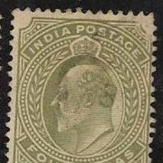 Francobolli: INDIA, COLONIA BRITÁNICA YVERT 63. Lote 258018455