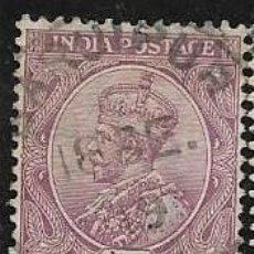 Francobolli: INDIA, COLONIA BRITÁNICA YVERT 89. Lote 258023525