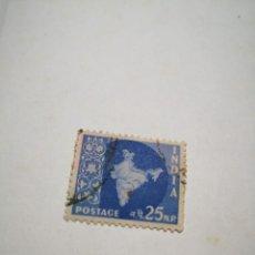 Sellos: SELLO POSTAGE 25NP INDIA. Lote 260770445