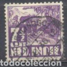 Sellos: INDIA HOLANDESA, USADO. Lote 265440439