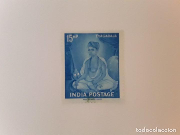 INDIA SELLO USADO (Sellos - Extranjero - Asia - India)