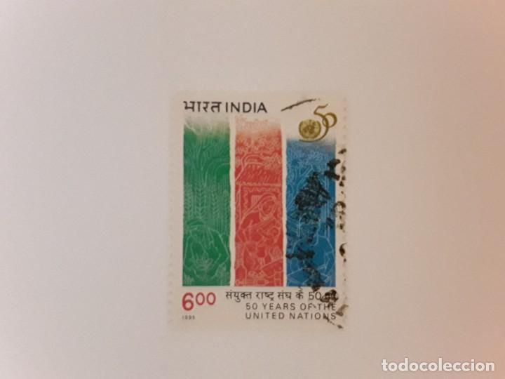 AÑO 1995 INDIA SELLO USADO (Sellos - Extranjero - Asia - India)
