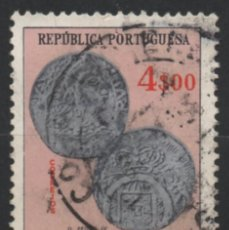 Sellos: INDIA PORTUGUESA 1959 ESCUDOS USADO * LEER DESCRIPCION. Lote 270377923