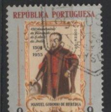 Sellos: INDIA PORTUGUESA 1956 USADO * LEER DESCRIPCION. Lote 270378588