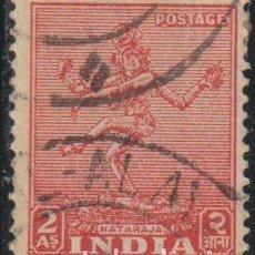 Sellos: INDIA 1949 SCOTT 211 SELLO º MONUMENTOS TEMPLOS NATARAJA MICHEL 195 YVERT 11 STAMPS TIMBRE INDE B. Lote 270878448