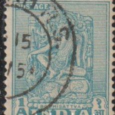 Sellos: INDIA 1950 SCOTT 231 SELLO º MONUMENTOS TEMPLOS BODHISATTVA MICHEL 215 YVERT 34 STAMPS TIMBRE INDE. Lote 270878498