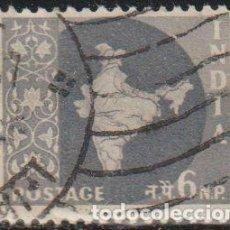 Sellos: INDIA 1957 SCOTT 279 SELLO º MAPA DE LA INDIA MAP MICHEL 263 YVERT 75 STAMPS TIMBRE INDE BRIEFMARKE. Lote 270879998