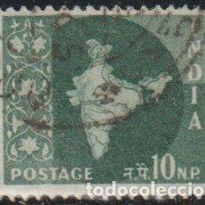 Sellos: INDIA 1957 SCOTT 281 SELLO º MAPA DE LA INDIA MAP MICHEL 265 YVERT 76 STAMPS TIMBRE INDE BRIEFMARKE. Lote 270880068