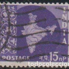 Sellos: INDIA 1957 SCOTT 283 SELLO º MAPA DE LA INDIA MAP MICHEL 267 YVERT 78 STAMPS TIMBRE INDE BRIEFMARKE. Lote 270880328