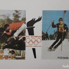 Sellos: DOS SELLOS NAGALAND. XXI OLIMPIADAS MONTREAL 1976.. Lote 273648673