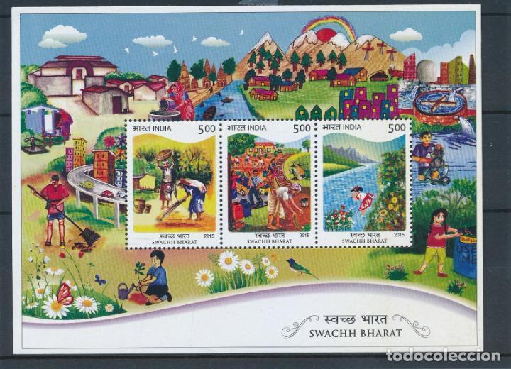 INDIA 2015 HB MICHEL 127 *** SWACHH BHARAT - INDIA LIMPIA (Sellos - Extranjero - Asia - India)