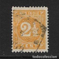 Sellos: INDIA HOLANDESA - CLÁSICO. YVERT Nº 19 USADO Y DEFECTUOSO. Lote 277102303