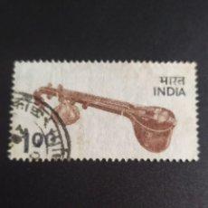 Sellos: ## INDIA USADO MUSICA ##. Lote 289014598