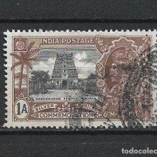 Sellos: INDIA SELLO USADO - 15/65. Lote 289533548