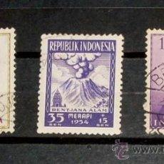Sellos: 3 SELLOS INDONESIA - USADOS. Lote 27245471