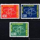 Sellos: INDONESIA 307/09** - AÑO 1962 - ENERGÍA ATÓMICA. Lote 158312966