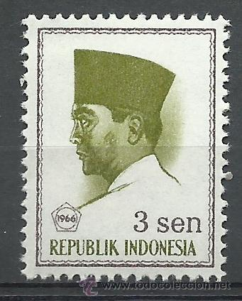 INDONESIA - 1966 - SCOTT 669** MNH (Sellos - Extranjero - Asia - Indonesia)
