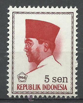 INDONESIA - 1966 - SCOTT 670** MNH (Sellos - Extranjero - Asia - Indonesia)