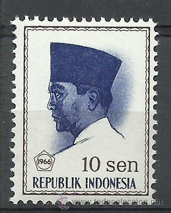 INDONESIA - 1966 - SCOTT 672** MNH (Sellos - Extranjero - Asia - Indonesia)