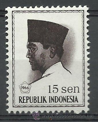 INDONESIA - 1966 - SCOTT 673** MNH (Sellos - Extranjero - Asia - Indonesia)