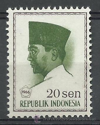 INDONESIA - 1966 - SCOTT 674** MNH (Sellos - Extranjero - Asia - Indonesia)