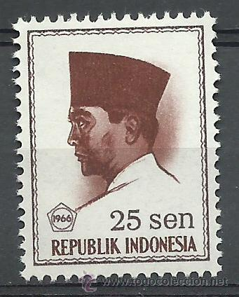 INDONESIA - 1966 - SCOTT 675** MNH (Sellos - Extranjero - Asia - Indonesia)
