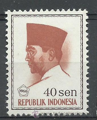 INDONESIA - 1966 - SCOTT 677** MNH (Sellos - Extranjero - Asia - Indonesia)