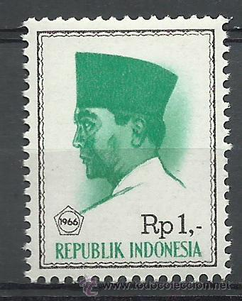 Sellos: Indonesia - 1966 - Scott 680** MNH - Foto 1 - 50479172