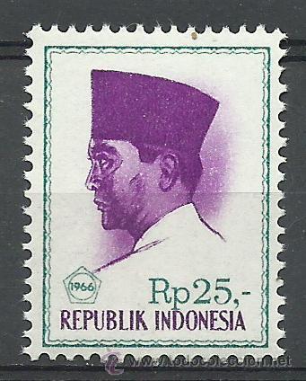 INDONESIA - 1966 - SCOTT 686B** MNH (Sellos - Extranjero - Asia - Indonesia)