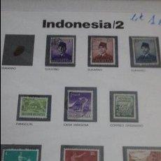 Sellos - Lote sellos originales indonesia - 53546908