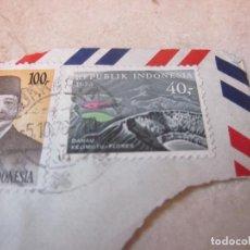 Sellos: SELLO USADO 40 RUPIAS REPUBLICA INDONESIA 1976 - MOTIVO DANAU KELIMUTU-FLORES. Lote 91876525