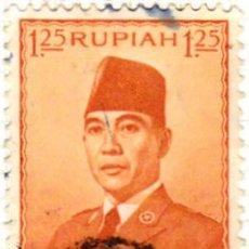 Sellos: 1953 - INDONESIA - SUKARNO - YVERT 63. Lote 115443871